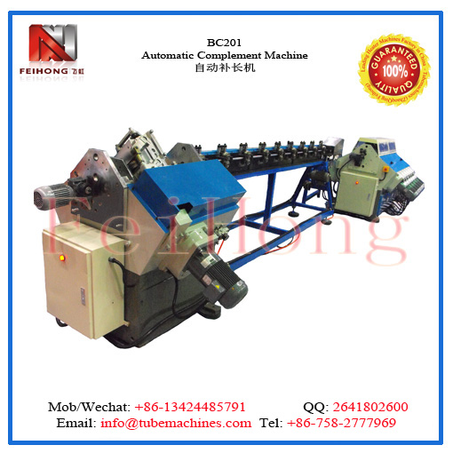 complement machine for heating elements