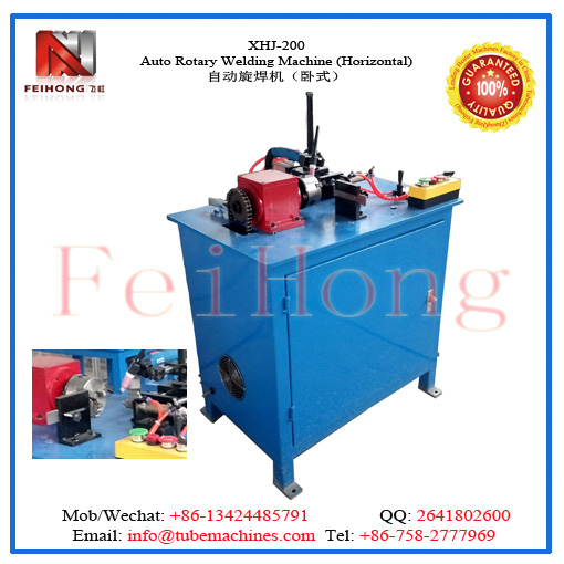 auto rotary welding machine for heating elements