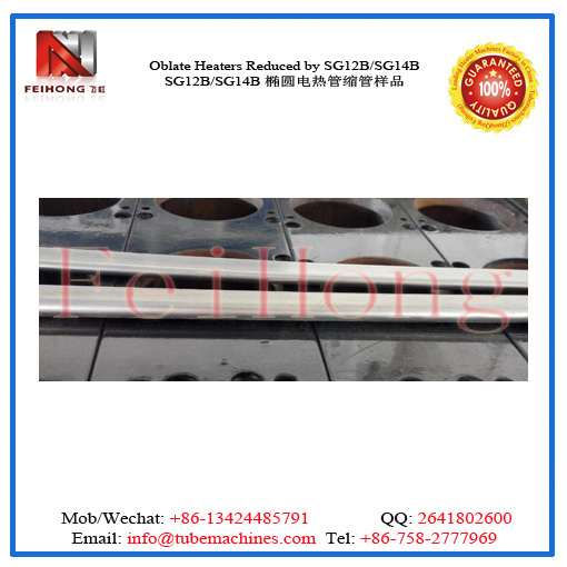flat heater tubular reducing by roll reducing m/c