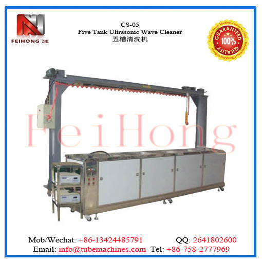 ultrasonic wave cleanig machine for heating elements