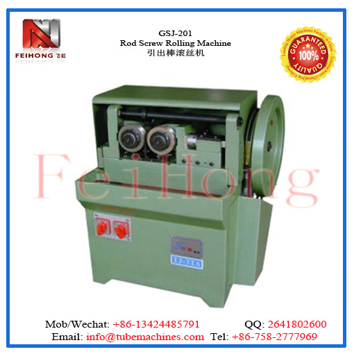 rod screw rolling machine