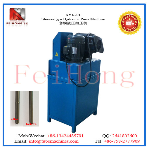 Sleeve-Type Hydraulic Press Machine