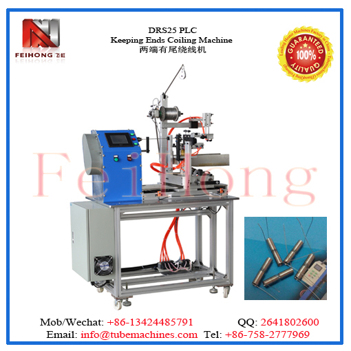 PLC keeping Ends Resistanc Coil Winding Machine