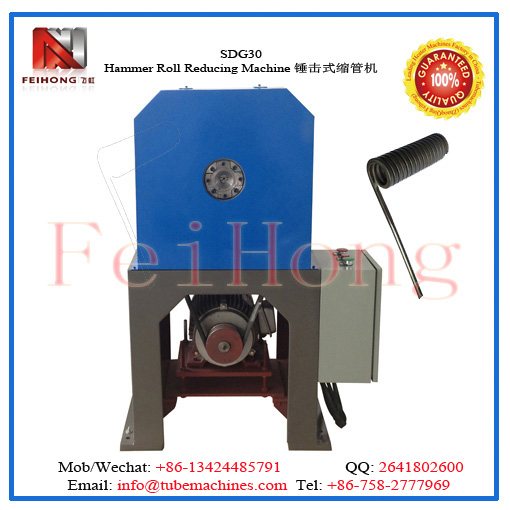 double hammer roll reducing machine