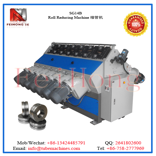 large pipe reducing machine for heating elements