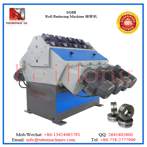 roll reducing machien for heater tubulars