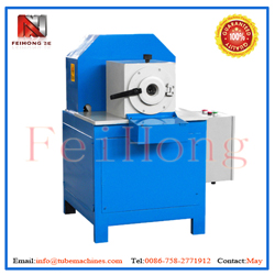 swaging machine for heater pipes