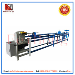winding machine for colling fin