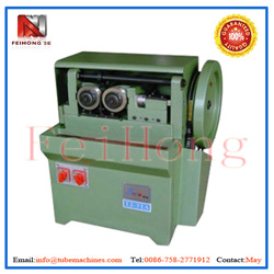 rod screw rolling machine for heating pipes