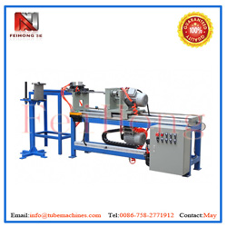 winding machine for heating pipes