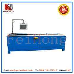 mobile auto tube bending machine