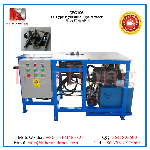 hydraulic pipe bendiing machine for heating elements