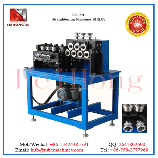 tube straightening equipment